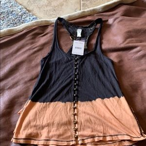 Free people/ shirt. NWT small